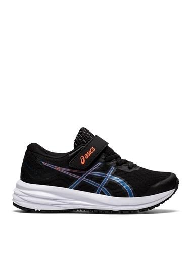 Asics Asics Patriot 12 Siyah-Mavi Erkek ÇocukYürüyüş Ayakkabısı Siyah